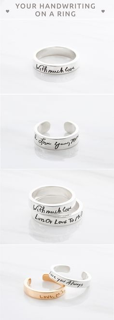 Handwriting rings • Handwriting ring • Memorial jewelry for men • Handwriting ring for men • Actual handwriting ring • Actual handwritten ring • Handwritten rings • Custom handwritten ring • Personalized handwriting jewelry • Handwriting gift • Minimalist jewelry • Remembrance jewelry • christmas gifts for inlaws • christmas presents for mother in law • christmas gifts for best friends • christmas gift ideas for friends • christmas gifts