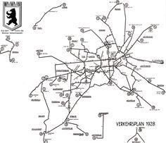 Liniennetz der ABOAG (1928)