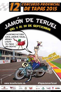GASTRONOMÍA EN ZARAGOZA: El Concurso de Tapas Jamón de Teruel, pisa el acel...
