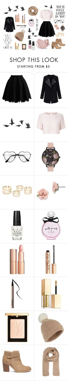 Classy by teresa-mt on Polyvore featuring moda, True Decadence, Sole Society, Olivia Burton, 1928, Gabriela Hearst, Miss Selfridge, Charlotte Tilbury, Yves Saint Laurent and Stila