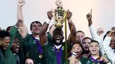 Rugby World Cup Memorable moments from Japan - BBC Sport Siya Kolisi, Competition Bows, English Rugby, England Players, Emotional Photos, Under The Shadow, World Cup Final, All Blacks, Rugby World Cup