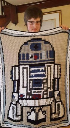 Star Wars c2c afghan
