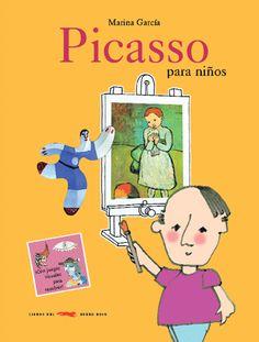 """Entrada en el blog """"Warholitos. Cultura para niños"""", donde recomiendan un libro sobre Picasso y vídeos para conocer mejor a este pintor."""