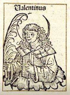 Valentine. Woodcut from the workshop of Michael Wolgemut. Nuremberg, 1493. @rijksmuseum