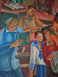 San Francisco has a long history of both murals and street art. This post covers some of the best places to see both in the Bay Area, from the art in Balmy Alley to the WPA murals in Coit Tower. Coit Tower San Francisco, Diego Rivera Frida Kahlo, Best Street Art, Fresco, California, History, Modern, Artwork, Painting