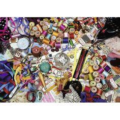 Haberdashery Heaven Puzzle, Multicolor