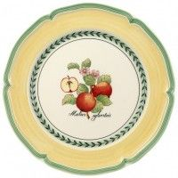 French Garden Valence Flat china plates