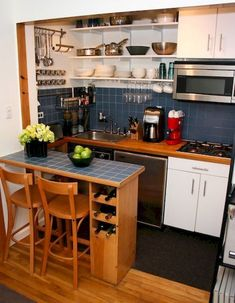 Genius tiny house kitchen ideas (30)