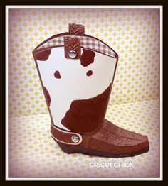 Simply Silhouette: Cowboy Boot