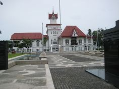 Emilio Aguinaldo's house in Kawit, Cavite, renovations designed by Aguinaldo himself, the first President of the Philippines, in Emilio Aguinaldo, Filipino Architecture, President Of The Philippines, Consumer Culture, Tourist Spots, Home Goods, Spain, Mansions, House Styles