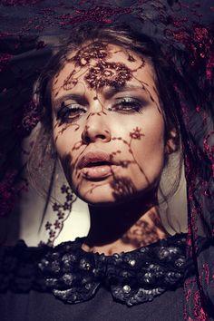 Nostalgy by Koleta Gabrysiak, via Behance...veiled