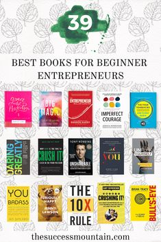 Looking for the best books for entrepreneurs starting a new business? Look no further than this holiday gift guide. I separated into categories based on what your entrepreneur needs to focus on: Best books on habits, best books for social media, books on Best Books To Read, Good Books, Books To Buy, Reading Lists, Book Lists, Social Media Books, Entrepreneur Books, Leadership, Life Changing Books