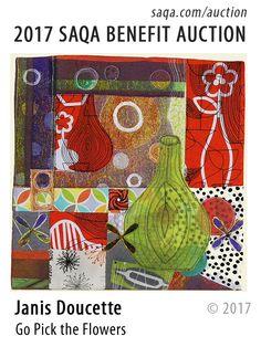 Art quilt by Janis Doucette