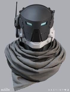 "ArtStation - Destiny 2 EDZ ""WildWood"" Titan Helmet, Roderick Weise"