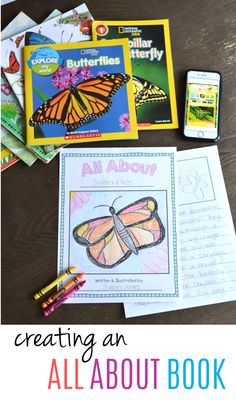 These all about books are such a fun reading and writing research project for your young learners! This post walks through some of the steps to having your first grade students successfully complete their very own All About Book!
