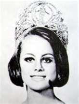 Margareta Arvidson (Sweden) Miss Universe 1966
