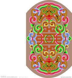 Монгольские орнаменты в цвете и мой кейн - И в этот берег дикий стучит волною Тихий, ужасно тихий океан