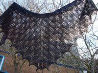 Азы вязания шалей спицами