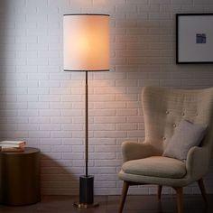 $349 west elm + Rejuvenation Cylinder Floor Lamp | west elm