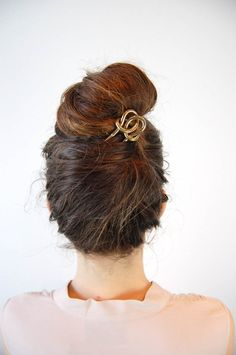 so cool - love this undo and the hair piece