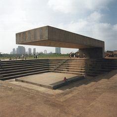 Monument, Villa-Lobos Park, Sao Paolo, Brazil, Architect Decio Tozzi, 1987