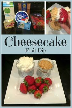 This is a guide about cheesecake fruit dip. This yummy dip is easy to whip up and is perfect for dipping fruit in.