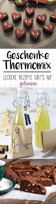 Time for home-made: 5 delicious gifts from the thermo .- Zeit für Selbstgemachtes: 5 leckere Geschenke aus dem Thermomix Now is the perfect time for delicious creations from the Thermomix that delight family and friends. Diy Gifts For Christmas, Diy Gifts For Men, Hallowen Food, Halloween Desserts, Thermomix Desserts, Dessert Recipes, Pasteles Halloween, Comida Diy, Challah