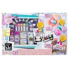 Amazon.com: Project Mc2 Ultimate Spa Studio Science Kit For Making Your Own: Lip Balm, Crystal Soaps and Lotion: Toys & Games
