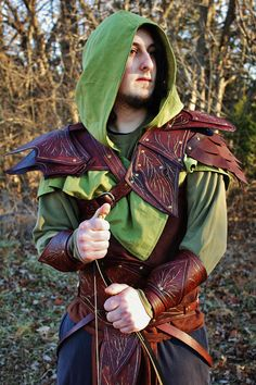 Hey, I found this really awesome Etsy listing at https://www.etsy.com/listing/541017657/copsewatch-druid-armor-leather-fantasy