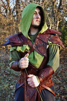 Copsewatch Druid Armor leather fantasy elven ranger