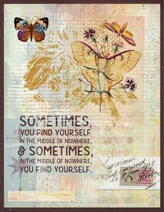 https://flic.kr/p/TSEc8D | SOMETIMES |   Made with April 2017 Mixed Media Monthly kits & addons at The Lilypad. Elements from Dawn Inskip (M3Apr17); Little Butterfly Wings (M3Apr17ADDON); and Lynne-Marie (M3Apr17, Journey MixedBag, & Journey Wordart). #artjournal #digitalartjournaling #digitalart #the_lilypad