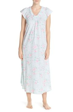 Carole Hochman Designs Floral Cotton Long Nightgown available at  Nordstrom Cotton  Nighties 07d08ed84