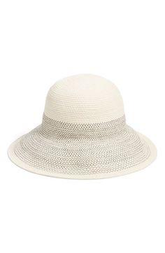 Caslon® Zigzag Stripe Sun Hat