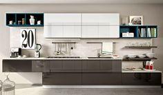 Ideas para combinar los colores en la cocina