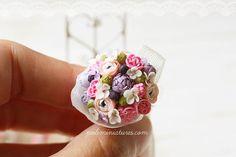 Dollhouse Miniature Bouquet