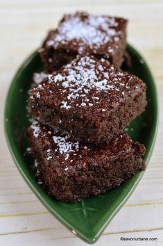 Vegan Sweets, Sweets Recipes, Healthy Desserts, Baby Food Recipes, Cooking Recipes, Brownies, Vegan Sugar, Romanian Food, Vegan Cake