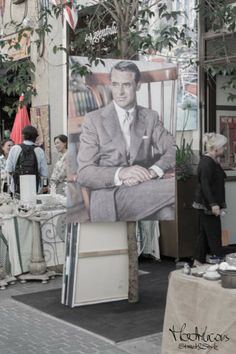 Vintage Market Madrid and Cary Grant