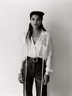 Amrit Kaur Models The Season's '70s Inspired Pieces | PORTER 70s Inspired Fashion, 70s Fashion, Fashion Tips, Daily Fashion, Street Fashion, Bohemian Blouses, Jennifer Fisher, Vintage Models, Fashion Story