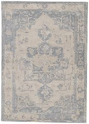 Wool and Viscose Material Rugs in Neutral color