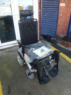 Pride Fusion 4 MPH RWD electric tilt and recline  powered electric wheelchair