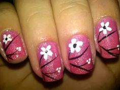 Fashion and More: Pink Nail Design Ideas   | See More