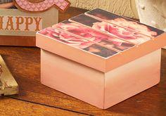 Decoupage - Pallet Box DIY with Mod Podge