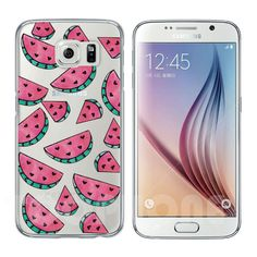 Newest Fresh Watermelon Pineapple Strawberry Ice Cream Cherry Phone Cases For Samsung Galaxy S4 S5 S6 S7 Edge Plus Note 5 Covers