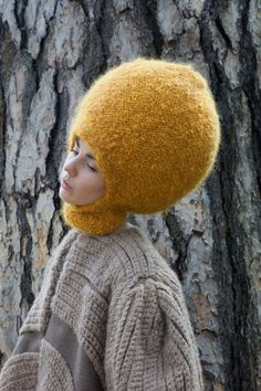 Nathalie Fordeyn. Gives new meaning to the term bobble hat