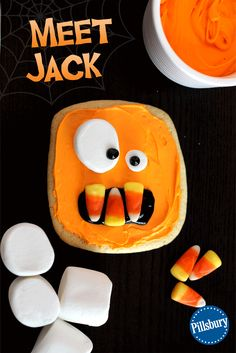 Jack is a delicious addition to our Wacky Monster Cookies and will put a smile on your face this Halloween! Kids can join in on the decorating fun by adding their own spooky silliness. You could even make these treats for a cute and creepy party food too!