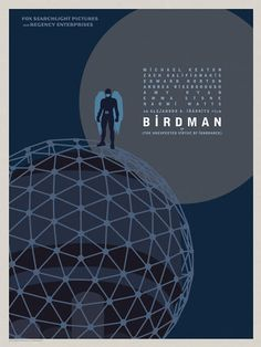"3 | ""Birdman"" Goes Coast To Coast In Gorgeous Posters For Alejandro González Iñárritu's Genre-Defying New Film 