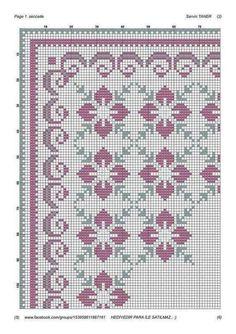 Cross Stitch Geometric, Cross Stitch Borders, Cross Stitch Rose, Cross Stitch Alphabet, Modern Cross Stitch, Cross Stitch Flowers, Cross Stitch Designs, Cross Stitching, Cross Stitch Embroidery