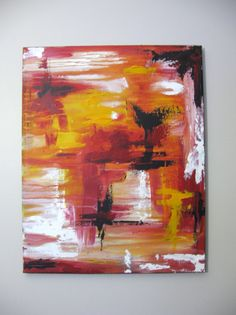 Abstract Acrylic Artwork Original painting by Artworkbynatalieb