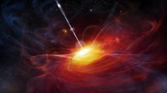 A team of scientists from China and Arizona have spotted the brightest quasar from the early universe, centered on a black hole 12.8 billion light years away and as bright as 420 trillion suns.