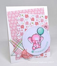 ChristineCreations: A Pink Bundle of Joy